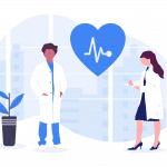 Illustration de médecins, la mutuelle interimaires sante est disponible pour les travailleurs temporaires